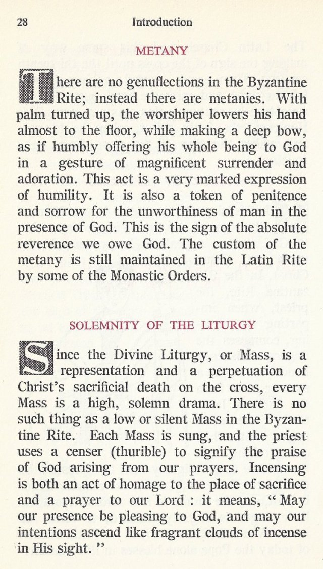 Introduction Byzantine Missal 17