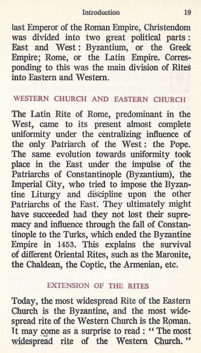 Introduction Byzantine Missal 8