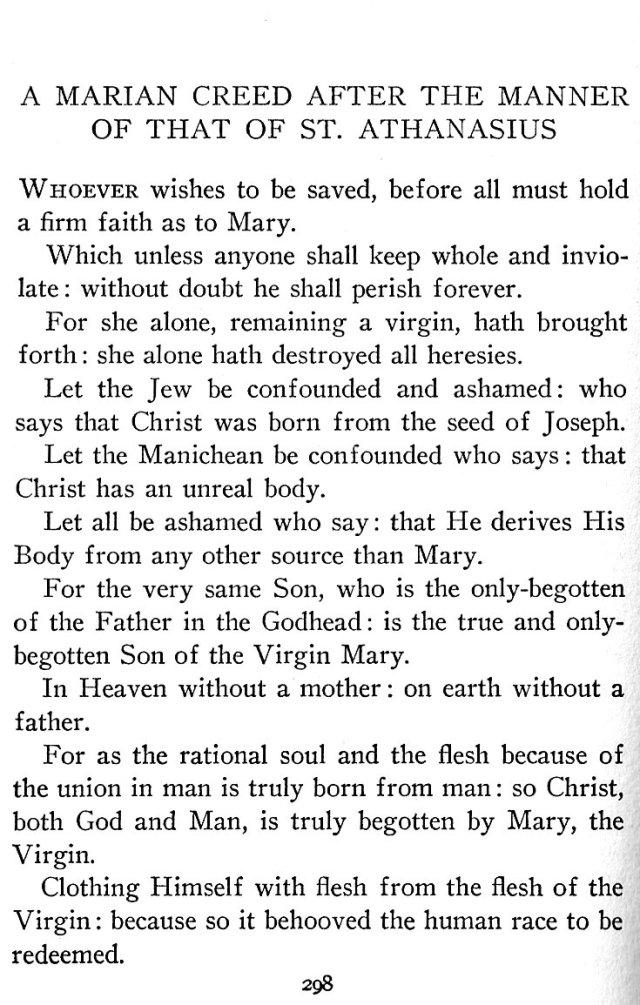 Marian Creed 1
