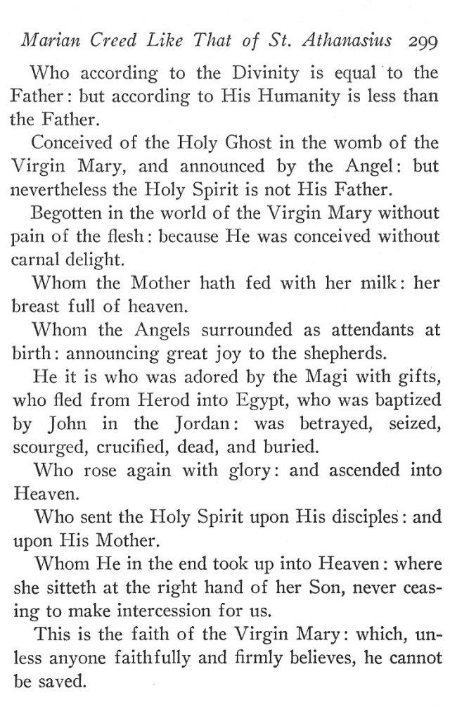 Marian Creed 2