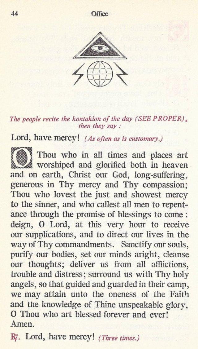 Preparation Divine Liturgy 10