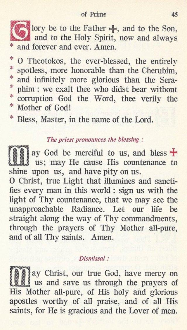 Preparation Divine Liturgy 11