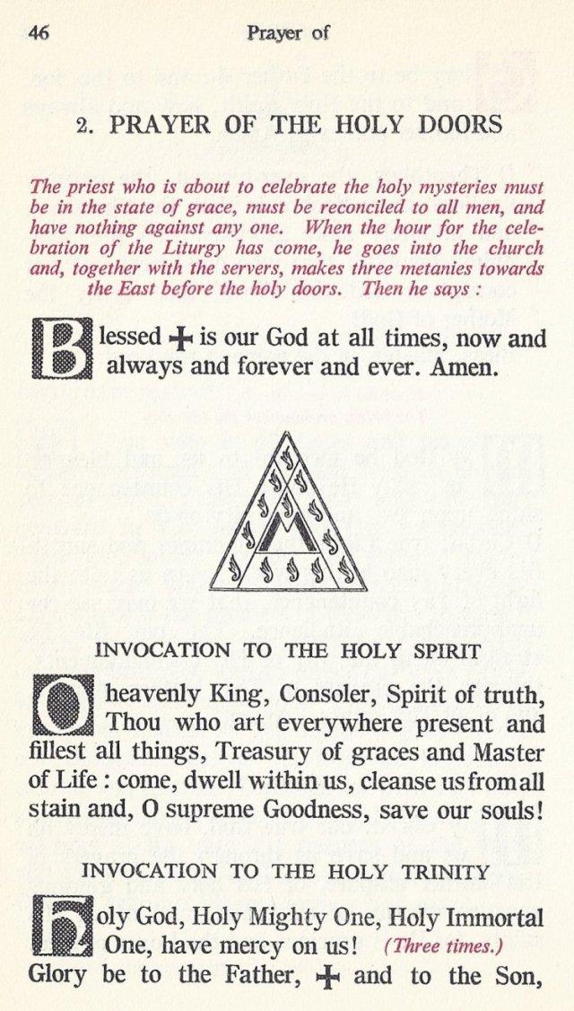 Preparation Divine Liturgy 12