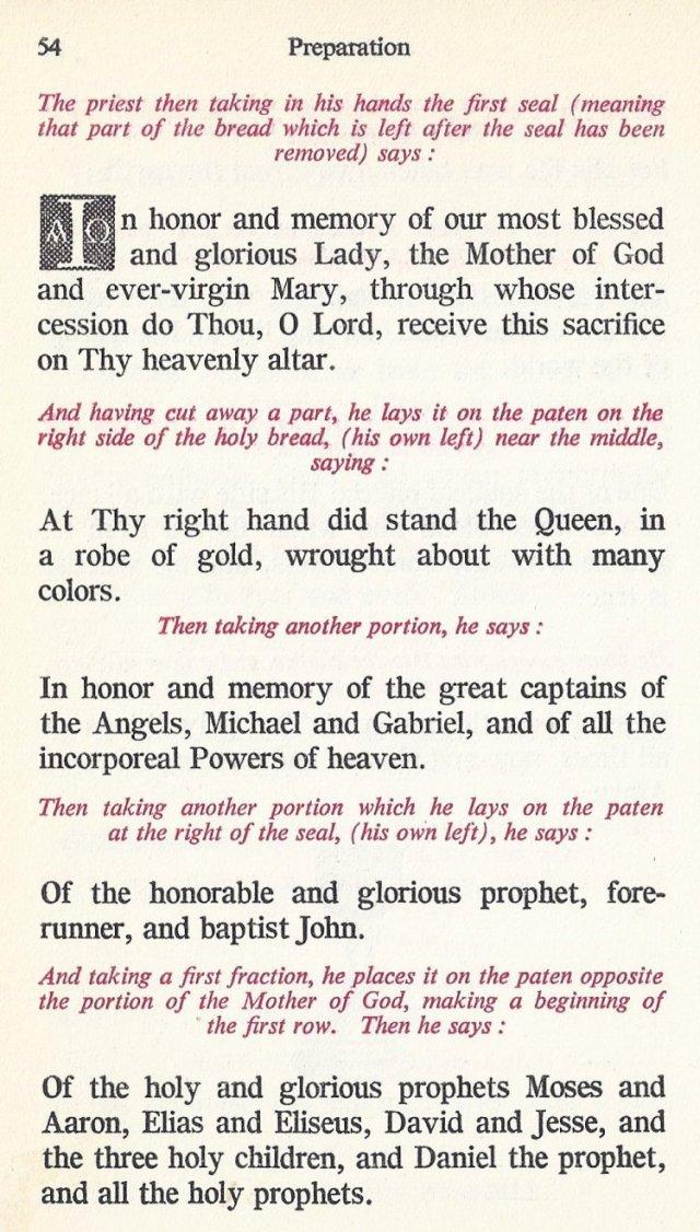 Preparation Divine Liturgy 20