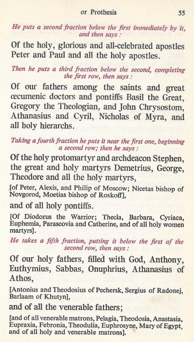 Preparation Divine Liturgy 21