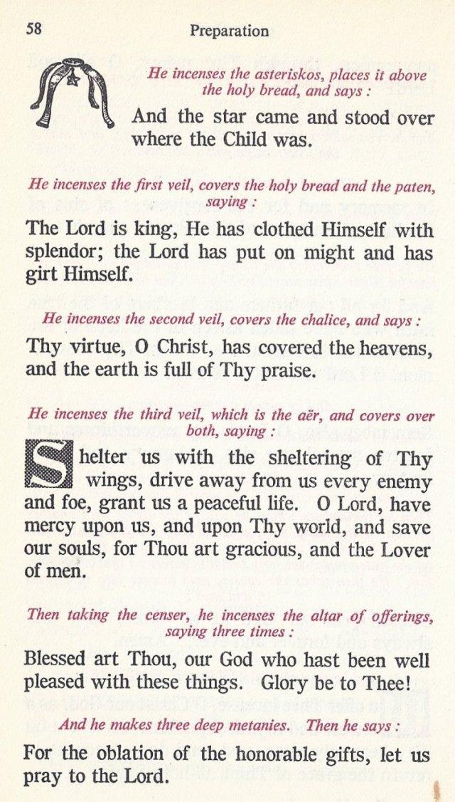 Preparation Divine Liturgy 24