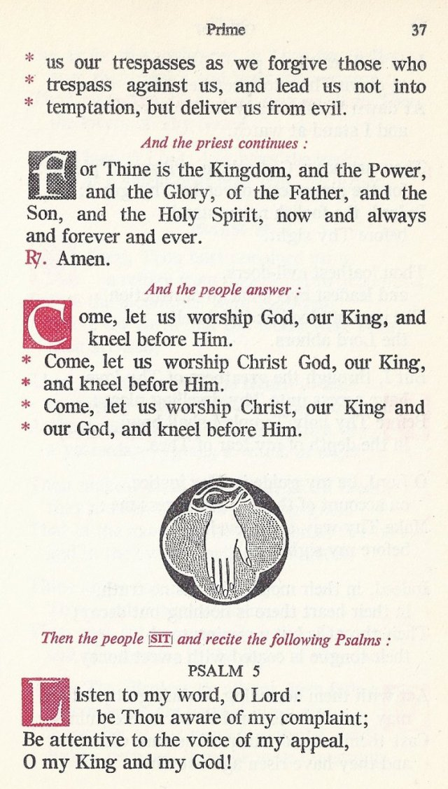 Preparation Divine Liturgy 3