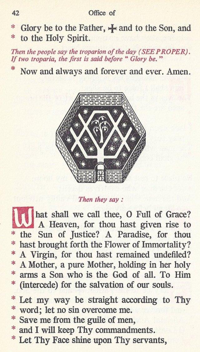 Preparation Divine Liturgy 8