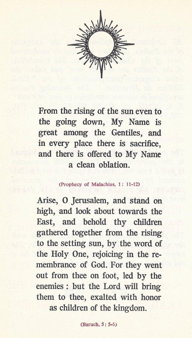 Prologue Byzantine Missal 1