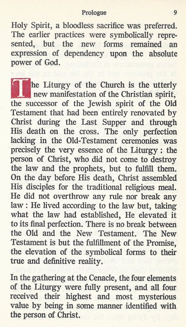 Prologue Byzantine Missal 6