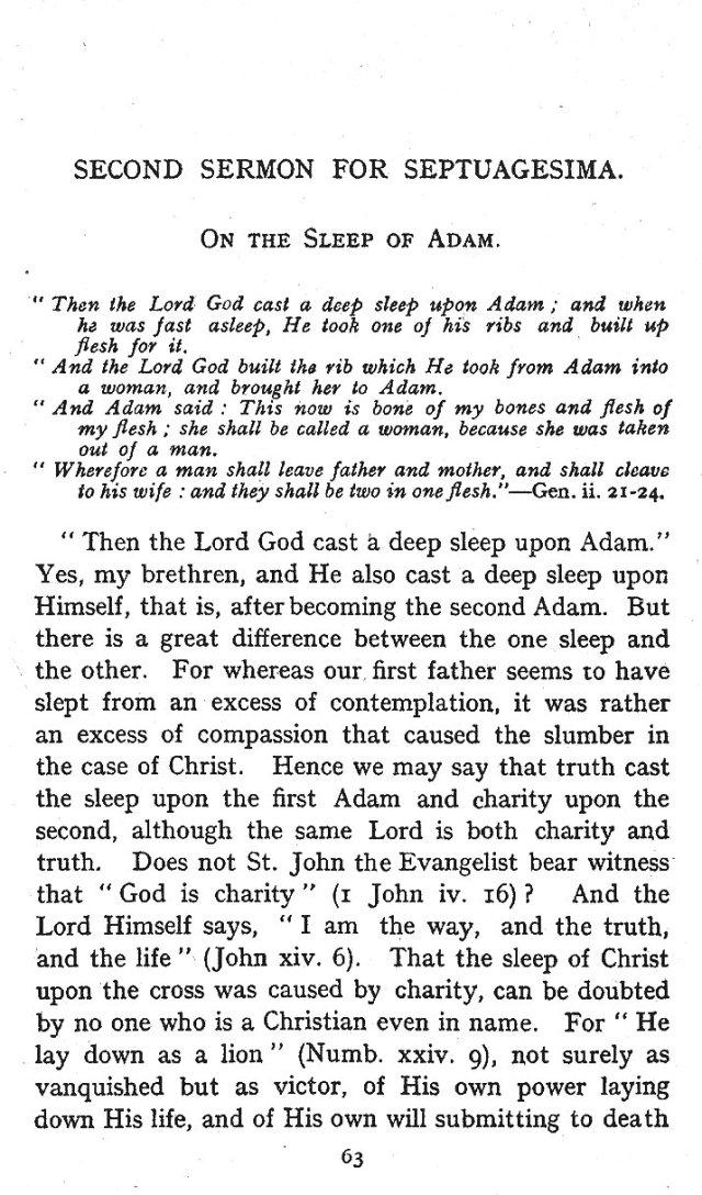 Septuagesima 2nd Sermon 1