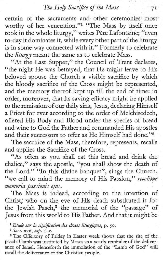 Holy Sacrifice of the Mass 3