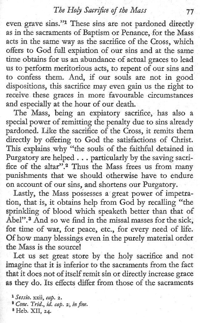 Holy Sacrifice of the Mass 9