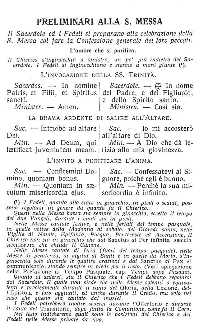 Ambrosian Ordo Missae 1