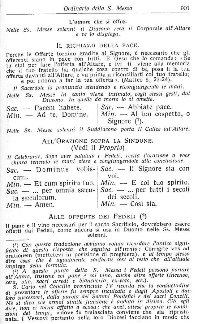 Ambrosian Ordo Missae 11
