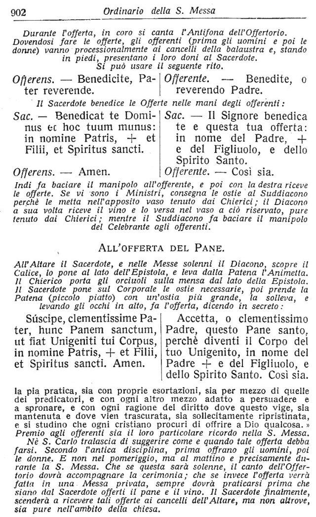 Ambrosian Ordo Missae 12