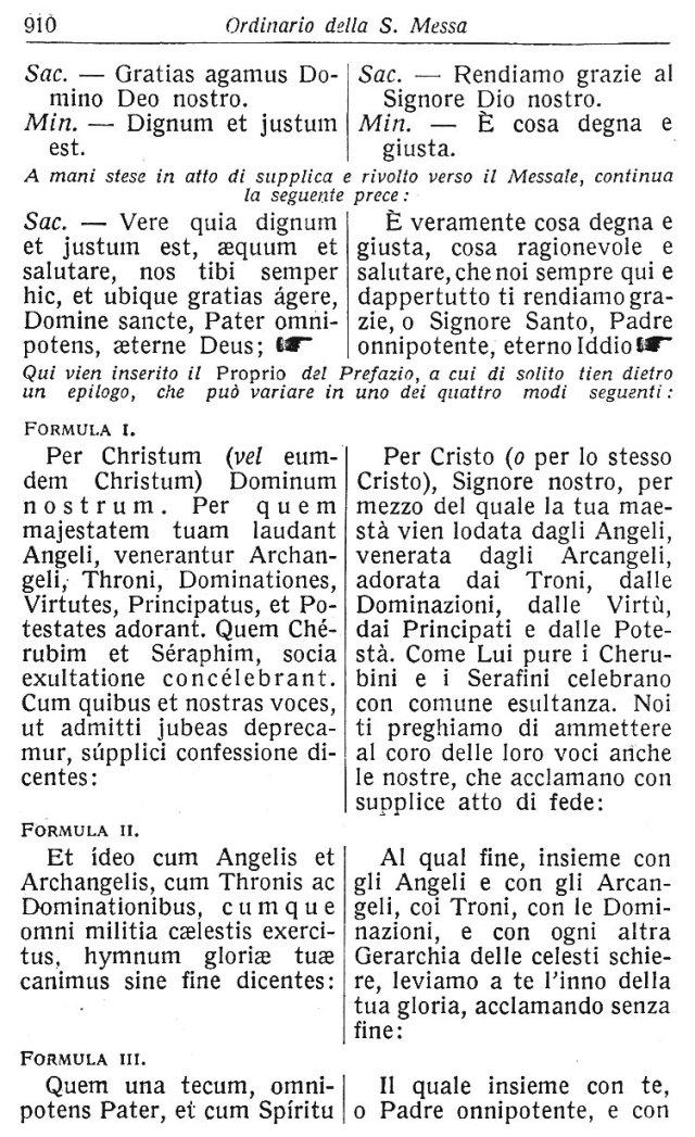 Ambrosian Ordo Missae 20