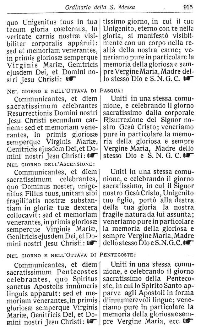Ambrosian Ordo Missae 25
