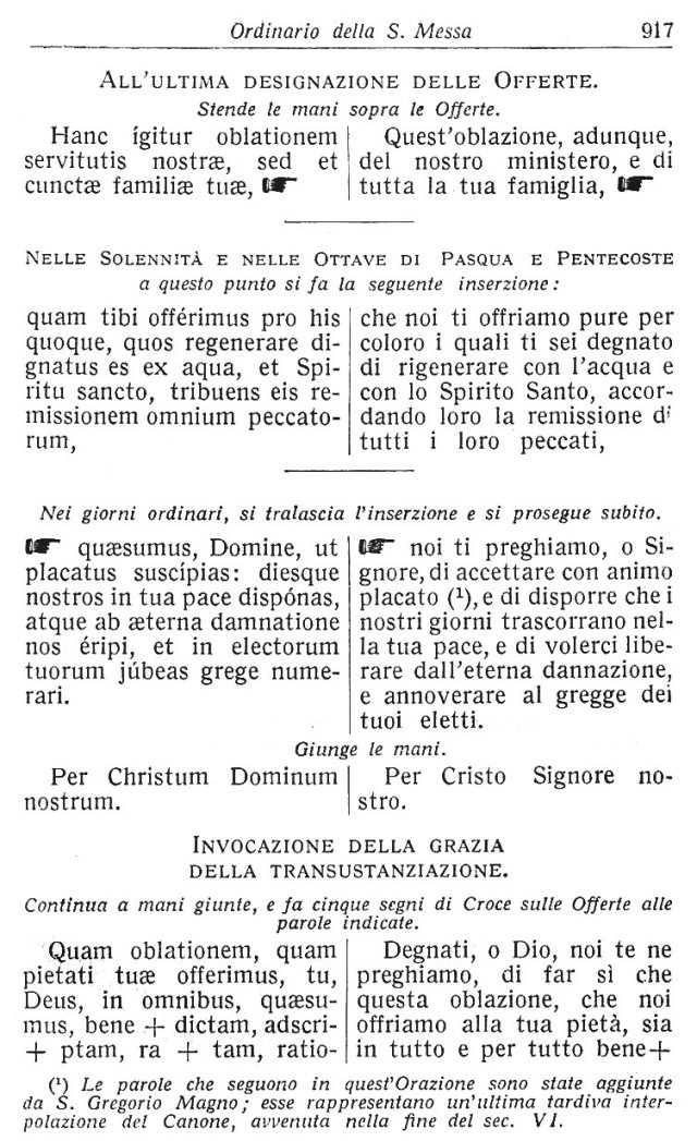 Ambrosian Ordo Missae 27
