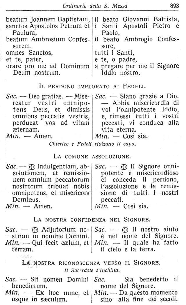 Ambrosian Ordo Missae 3