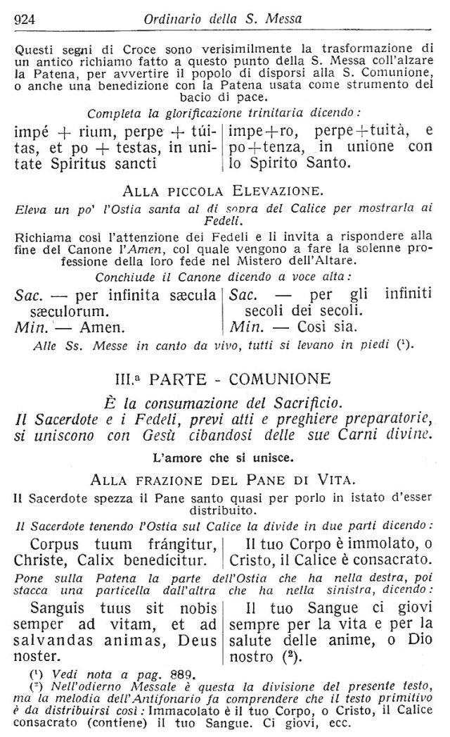 Ambrosian Ordo Missae 34