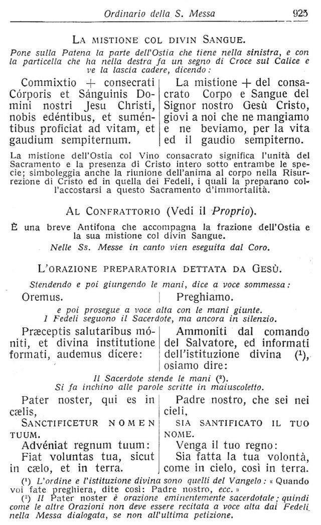 Ambrosian Ordo Missae 35