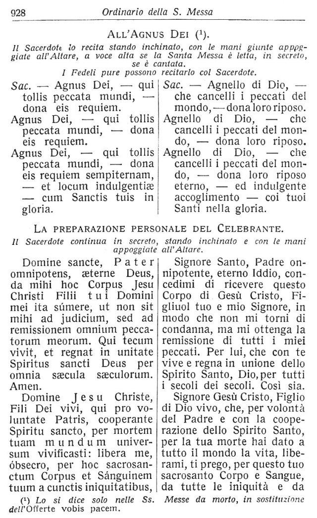 Ambrosian Ordo Missae 38