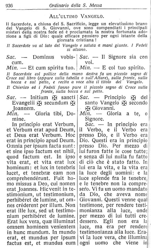 Ambrosian Ordo Missae 46