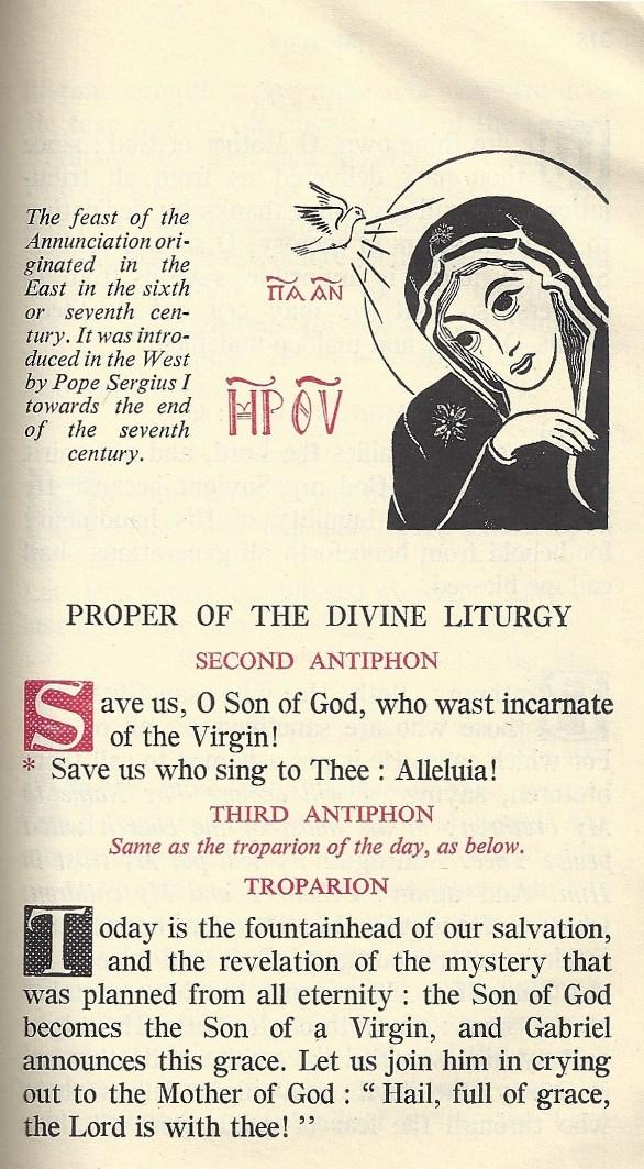 Byzantine Annunciation 2