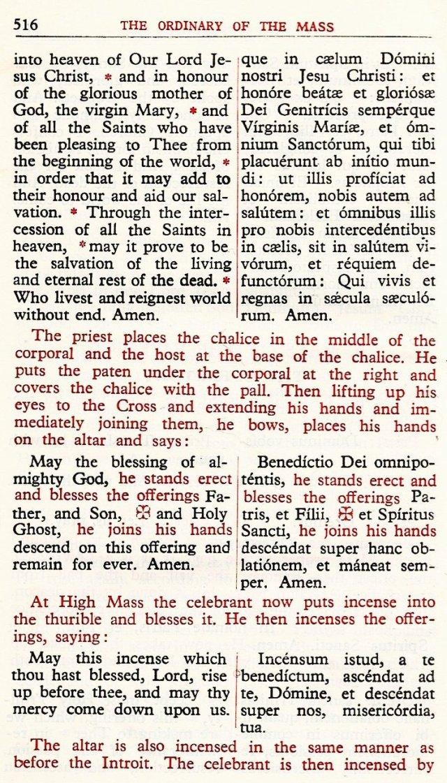 Carmelite Ordo Missae 12
