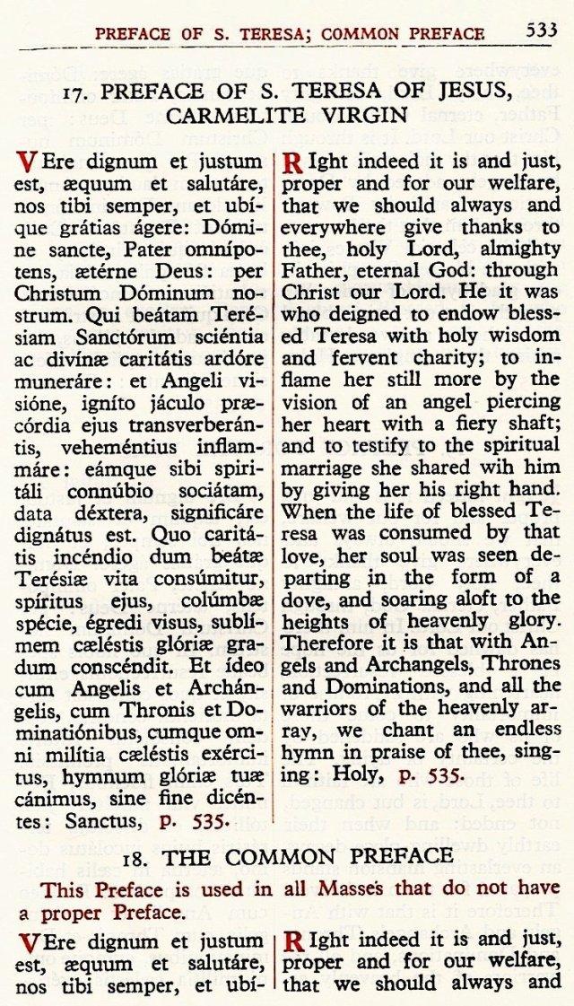 Carmelite Ordo Missae 29