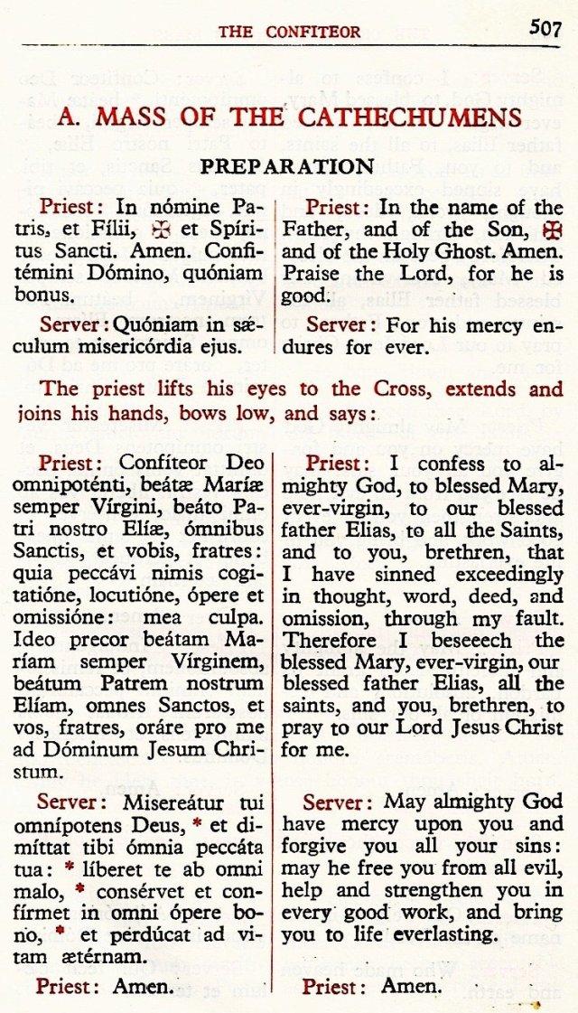 Carmelite Ordo Missae 3