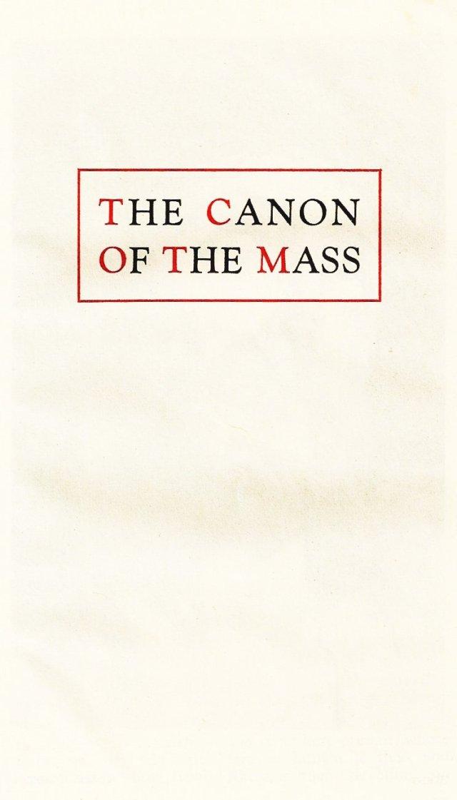 Carmelite Ordo Missae 32