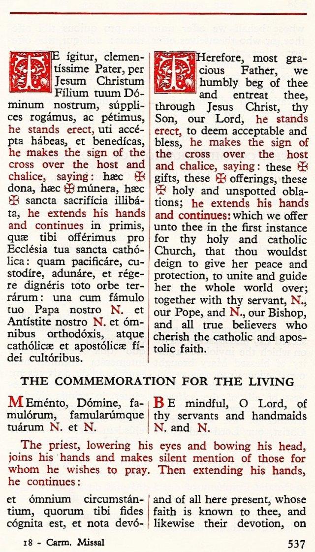 Carmelite Ordo Missae 33
