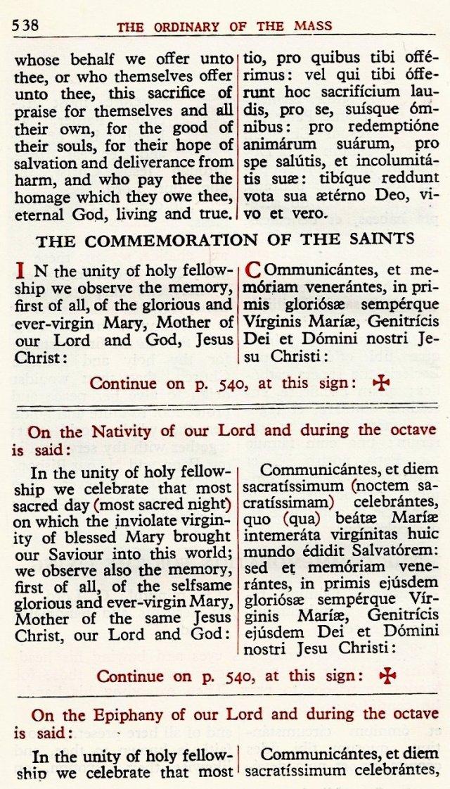 Carmelite Ordo Missae 34