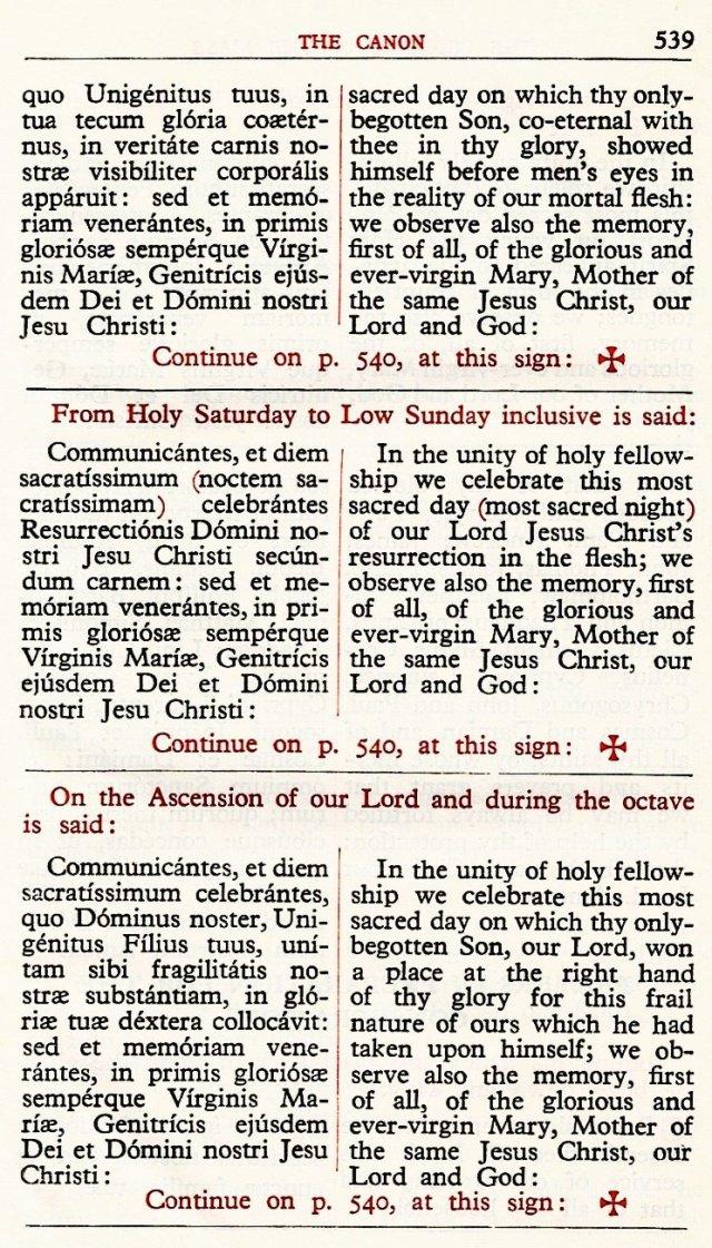 Carmelite Ordo Missae 35