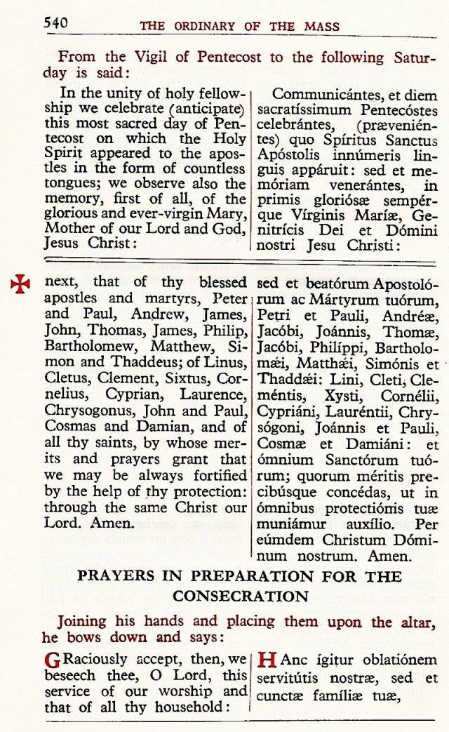 Carmelite Ordo Missae 36