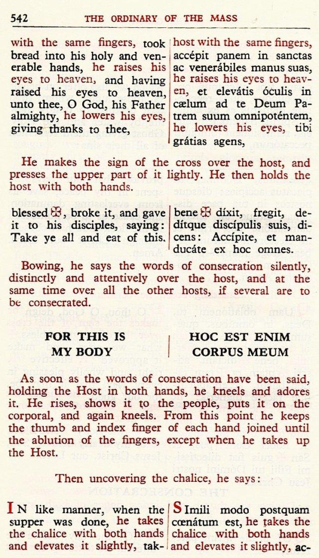 Carmelite Ordo Missae 38
