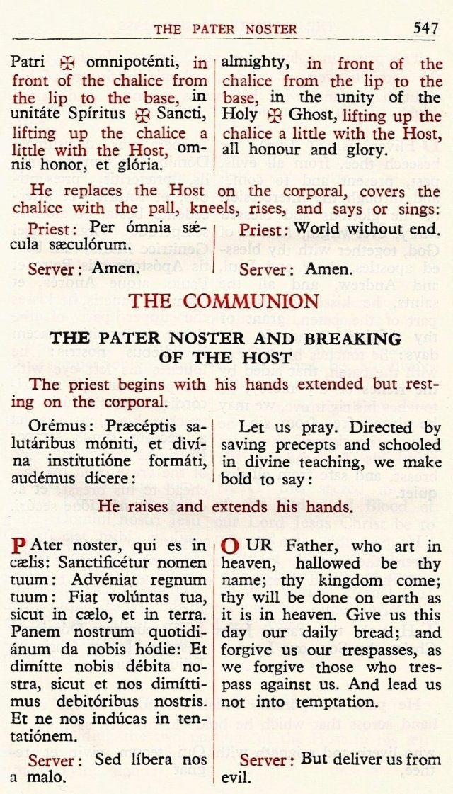 Carmelite Ordo Missae 43