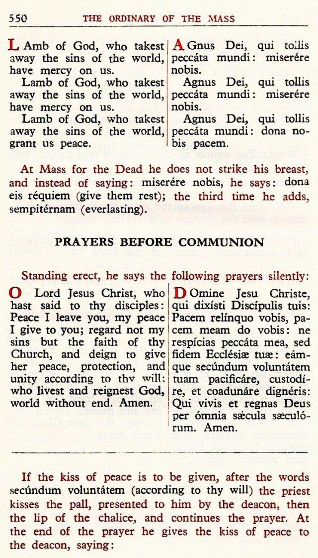 Carmelite Ordo Missae 46