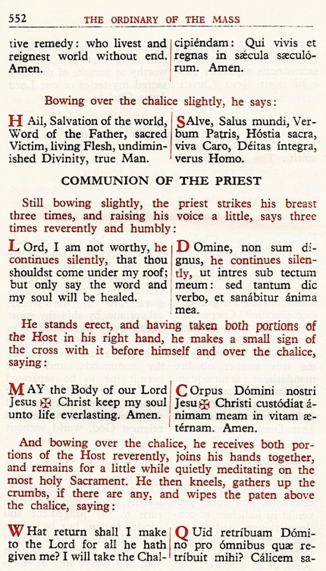 Carmelite Ordo Missae 48