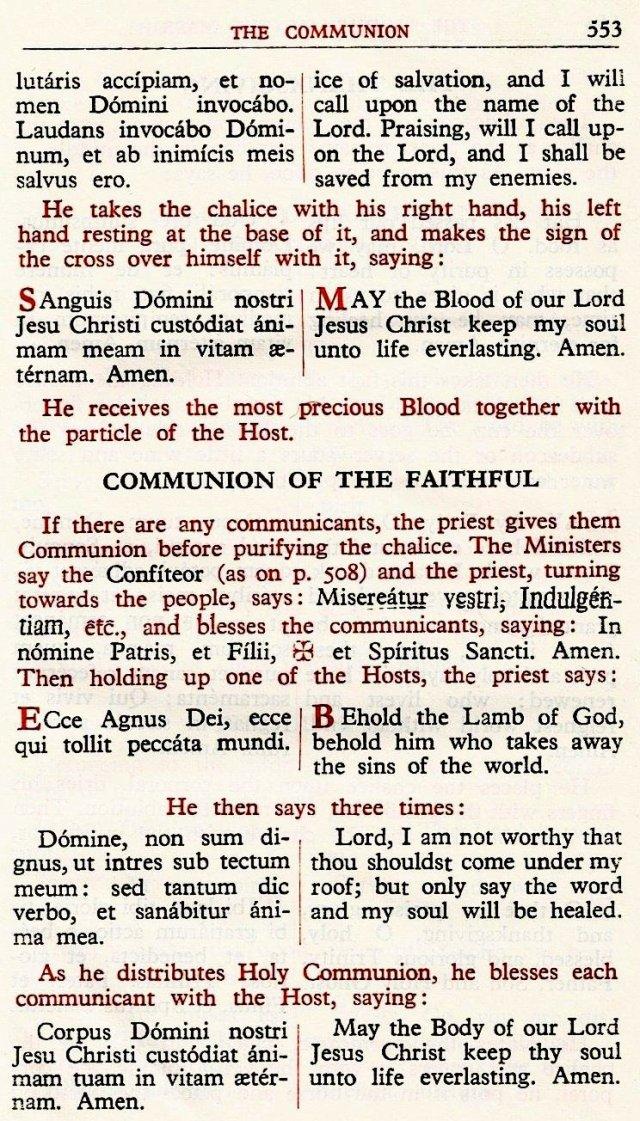 Carmelite Ordo Missae 49