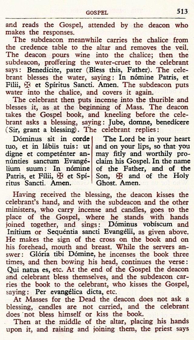 Carmelite Ordo Missae 9