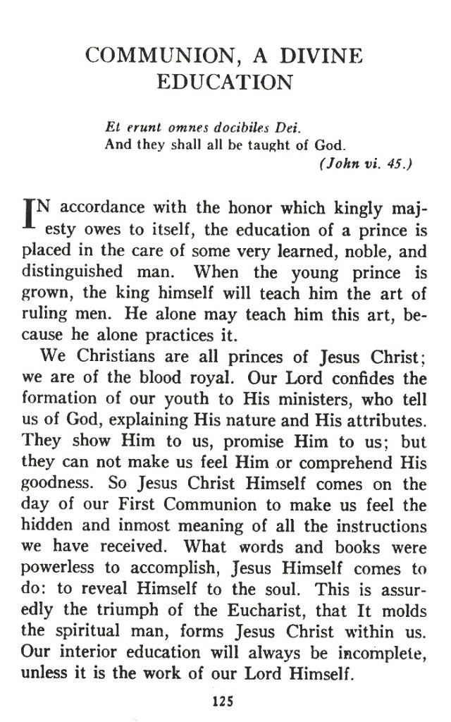 Divine Education 1