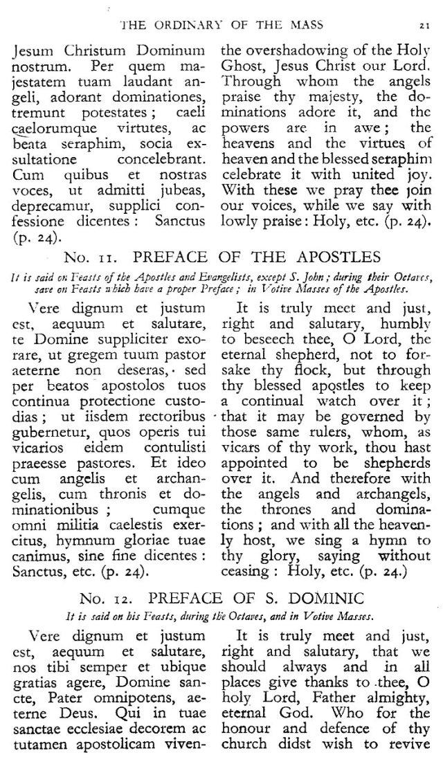 Dominican Ordo Missae 17
