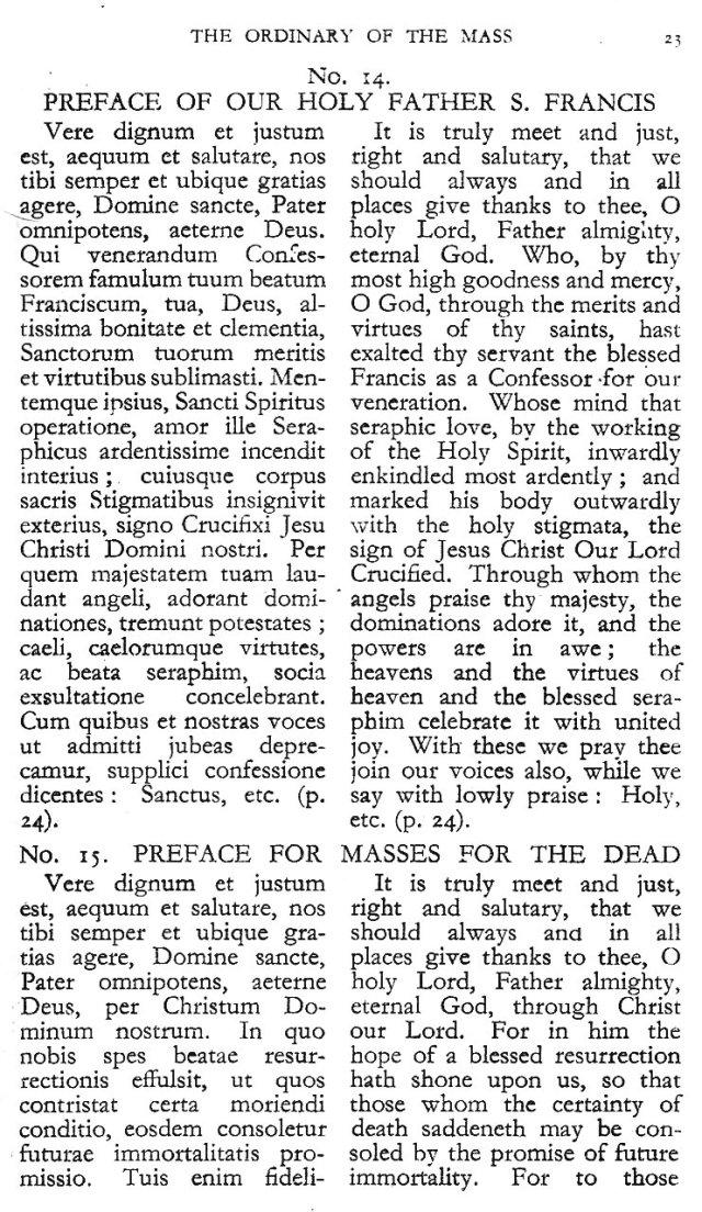 Dominican Ordo Missae 19