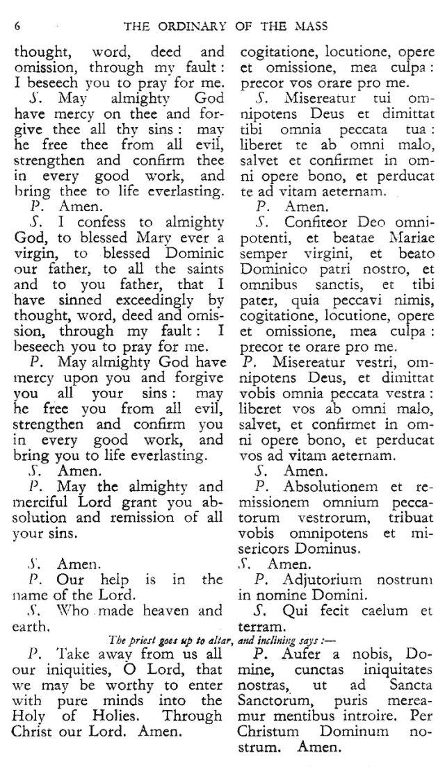 Dominican Ordo Missae 2