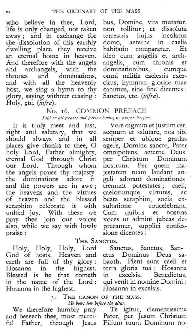 Dominican Ordo Missae 20