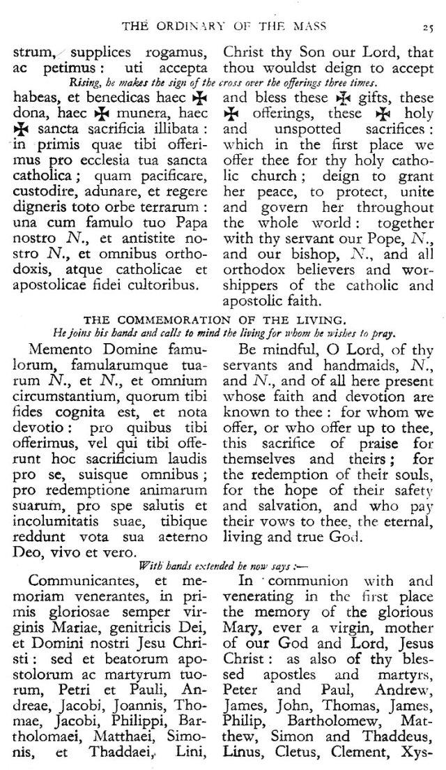 Dominican Ordo Missae 21