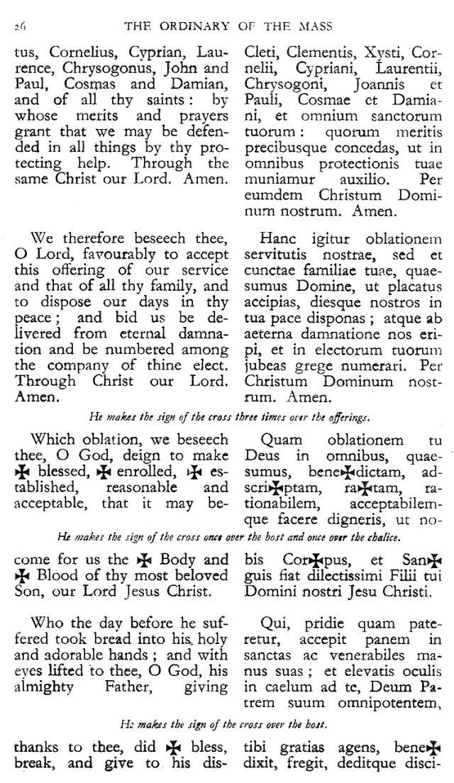 Dominican Ordo Missae 22